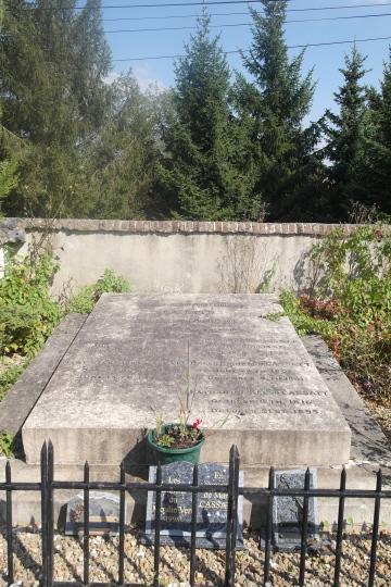 Mary Cassatt's Gravesite