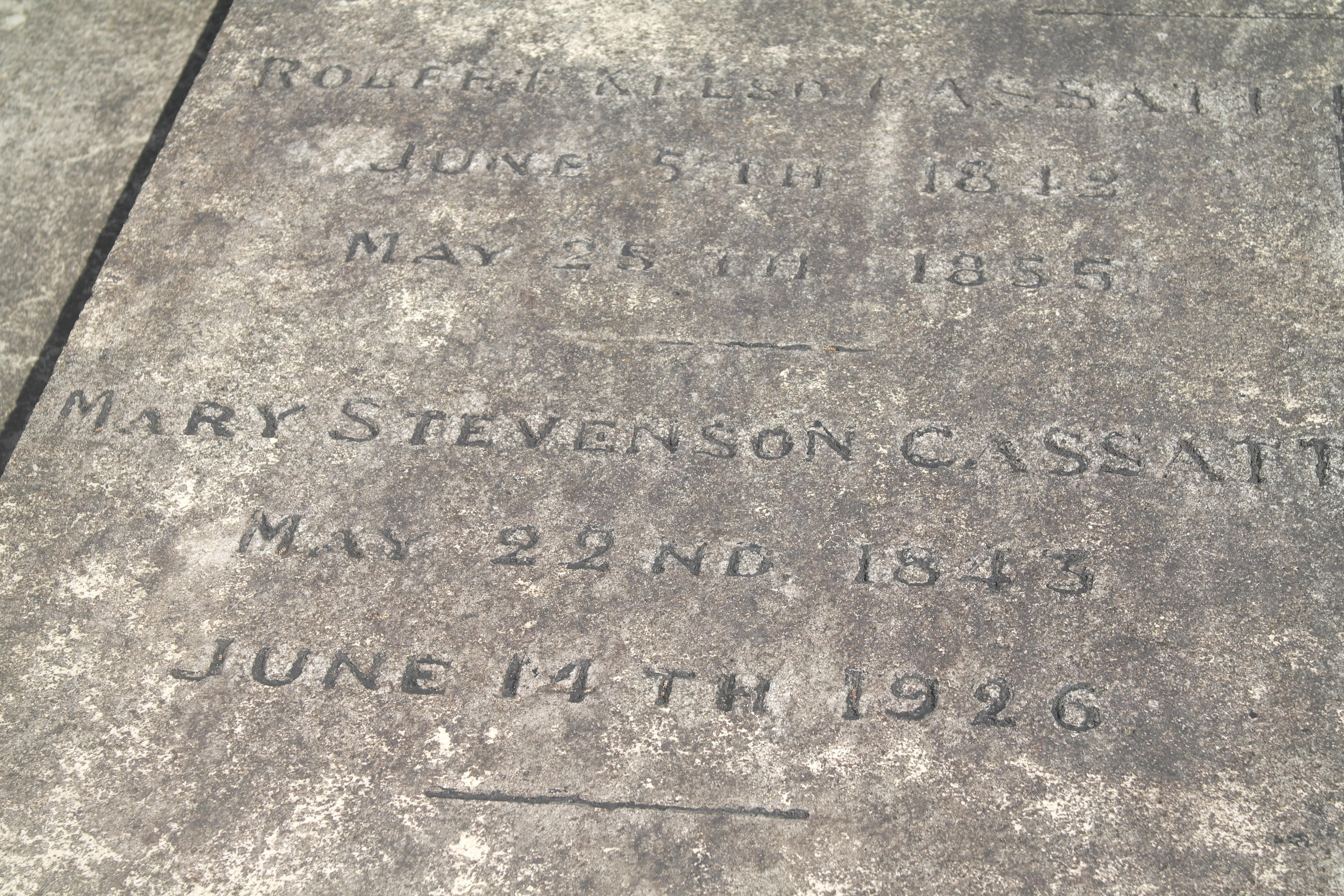 Mary stevenson Cassatt (1845-1926)