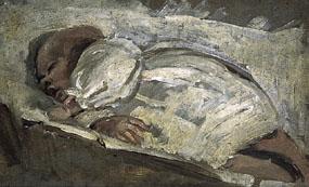 Vanessa Bell, Portrait of Julian Bell (1908)