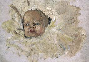 Vanessa Bell, Portrait Julian Bell (1908)