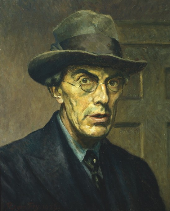 Roger Fry, Self-Portrait (1928)