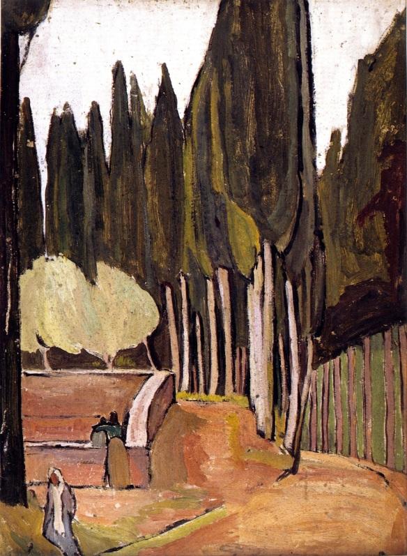 Vanessa Bell, Monte Olivet (1912)