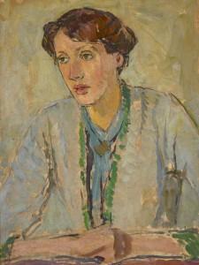 Vanessa Bell, Portrait of Virginia Woolf (1912) Virginia Woolf (c. 1912), © Estate of Vanessa Bell, courtesy Henrietta Garnett. Photo © National Trust / Charles Thomas