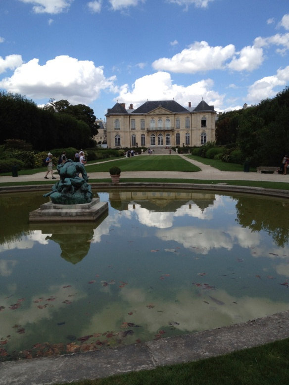Musée Rodin, view from the south garden
