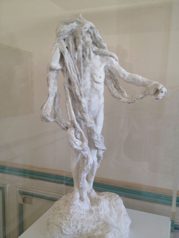 Camille Claudel, Clotho (1893), Plaster. Donated by Paul Claudel in 1952.