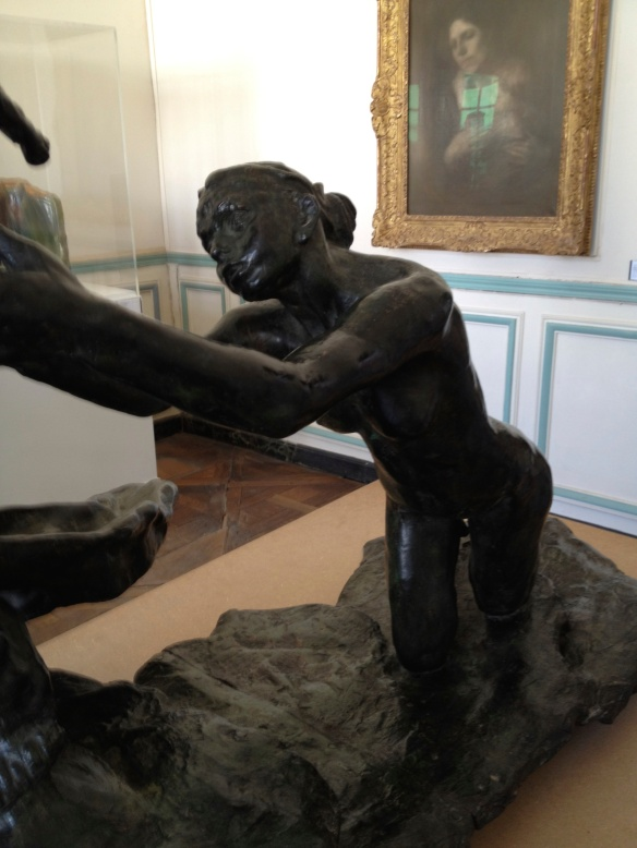 Camille Claudel, The Age of Maturity (1899), Bronze. Donated by Paul Claudel in 1952.
