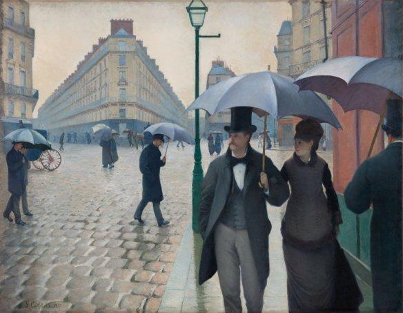 Paris Street: Rainy Day, 1877, Art Institute of Chicago
