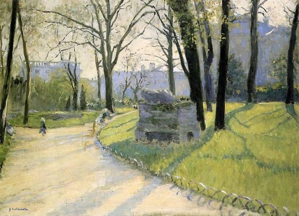 Caillebotte, Le Parc Monceau