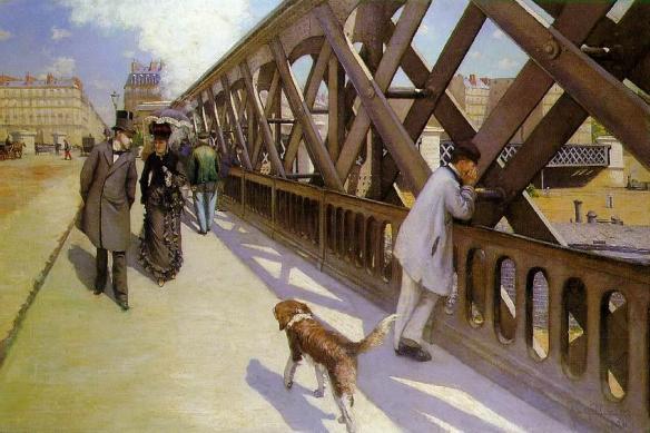 Gustave Caillebotte, Pont de L'Europe (1876), Musée du Petit Palais, Geneva, Switzerland