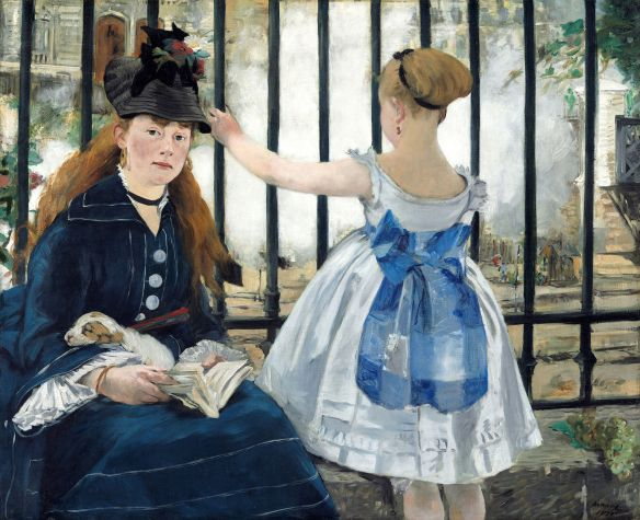 EdouardManet, The Railway (1874), National Gallery of Art, Washington, D.C.