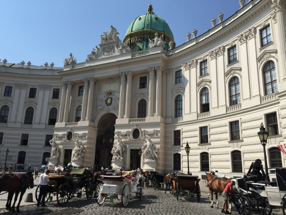 Hapsburg Palace in Vienna