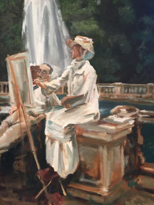 Margie White, Copy of Sargent's The Fountain (2015)