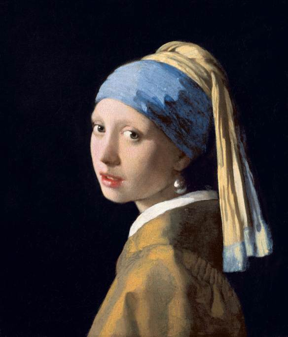 Johannes Vermeer, The Girl With a Pearl Earring (c. 1665), The Mauritius, The Hague