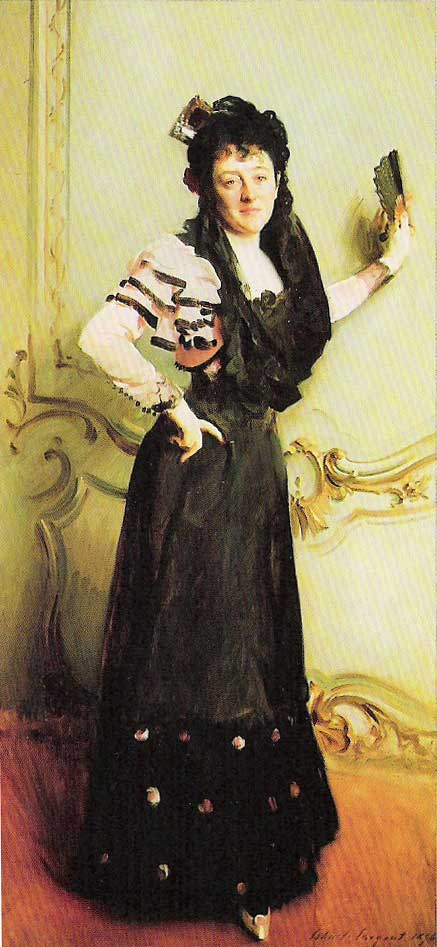John Singer Sargent, Mrs. Walter Bacon,