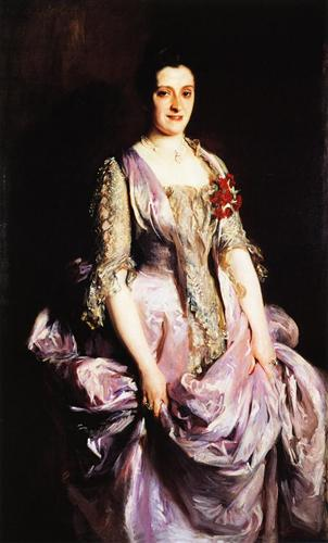 John Singer Sargent, Mrs. Benjamin Kissam (1888), oil on canvas, the Oak Room at the Biltmore Estate, Asheville, North Carolina