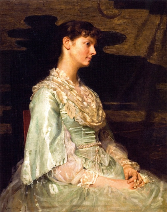 Celia Beaux, Ethel Page as Undine (1885), oil on canvas, private collection