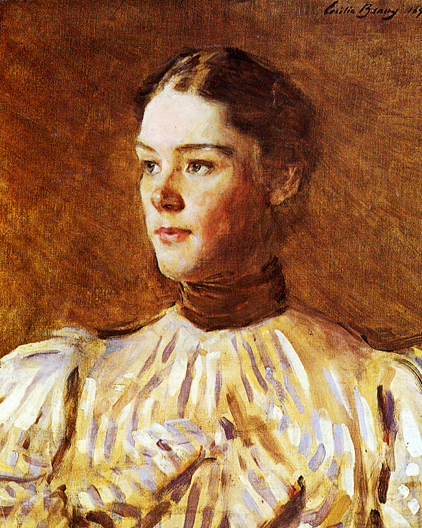 Celia Beaux, Self Portrait (1894)