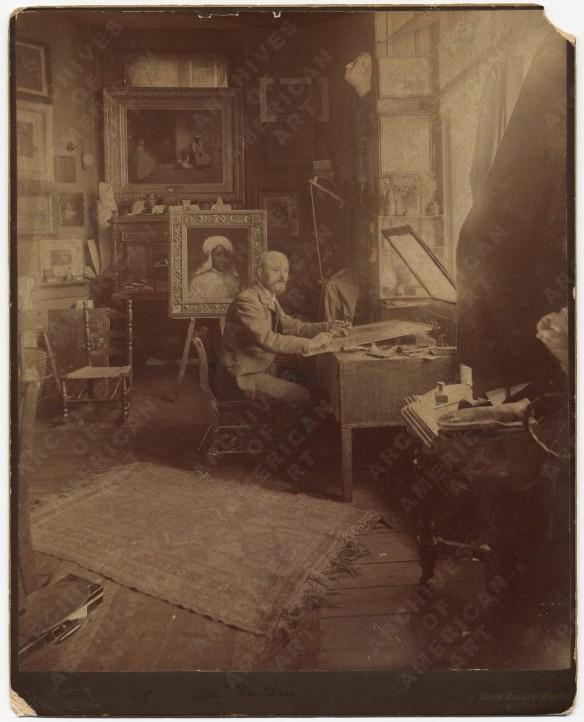 William Sartain Studio, http://www.aaa.si.edu/collections/viewer/william-sartain-his-studio-5278