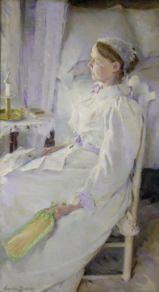 Cecilia Beaux, New England Woman (1895), oil on canvas, Pennsylvania Academy of Fine Arts, Philadelphia, Pennsylvania