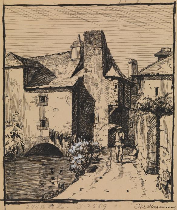 Alexander Harrison, Concarneau