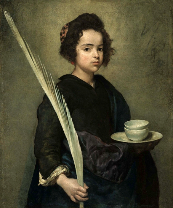 Old Master Paintings Sale Sotheby's, London - July, 4 , 2007 Velazquez (1599 - 1660) Saint Rufina Estimate: 6,000,000 - 8,000,000 Copyright in this image shall remain vested in Sotheby's. Please note that this image may depict subject matter which is itself protected by separate copyright. Sotheby's makes no representations as to whether the underlying subject matter is subject to its own copyright, or as to who might hold such copyright. It is the borrower's responsibility to obtain any relevant permissions from the holder(s) of any applicable copyright and Sotheby's supplies this image expressly subject to this responsibility.